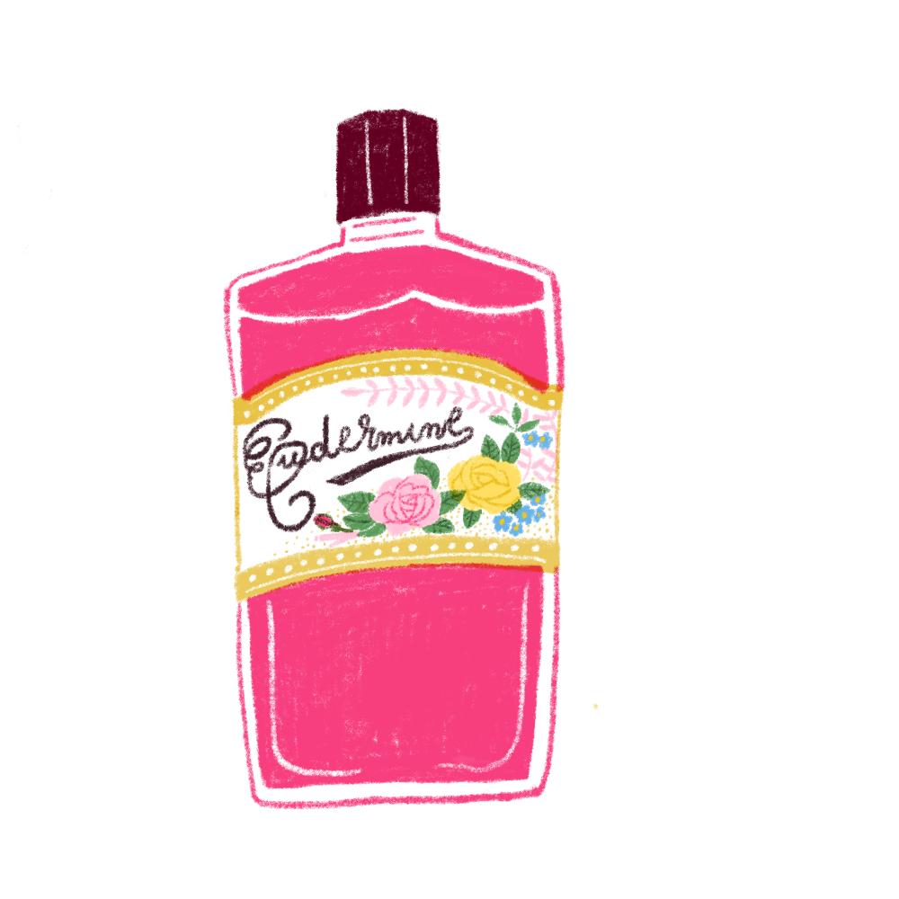 レトロな化粧水
