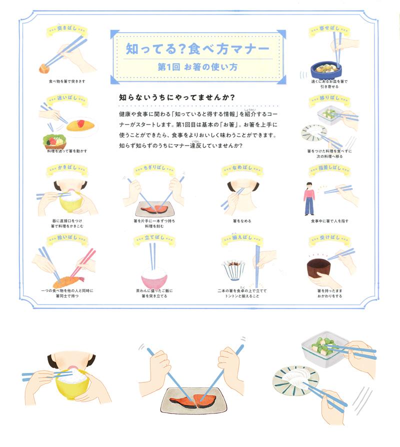 お箸マナー1